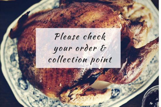 Collections are go – please check your order confirmation!