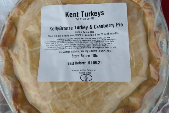 Our Turkey & Cranberry Pies are back!